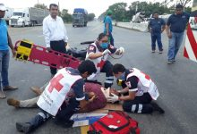 Se accidenta motociclistas en Villahermosa,